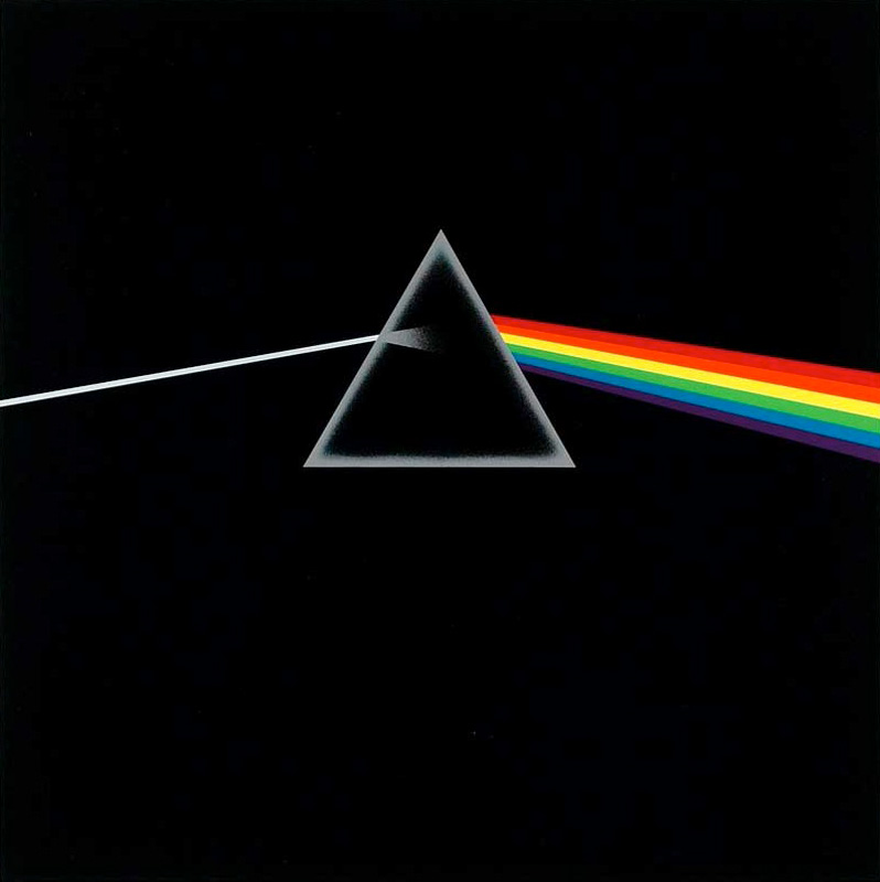 Pink Floyd, Dark Side of the Moon Album Cover, 1973