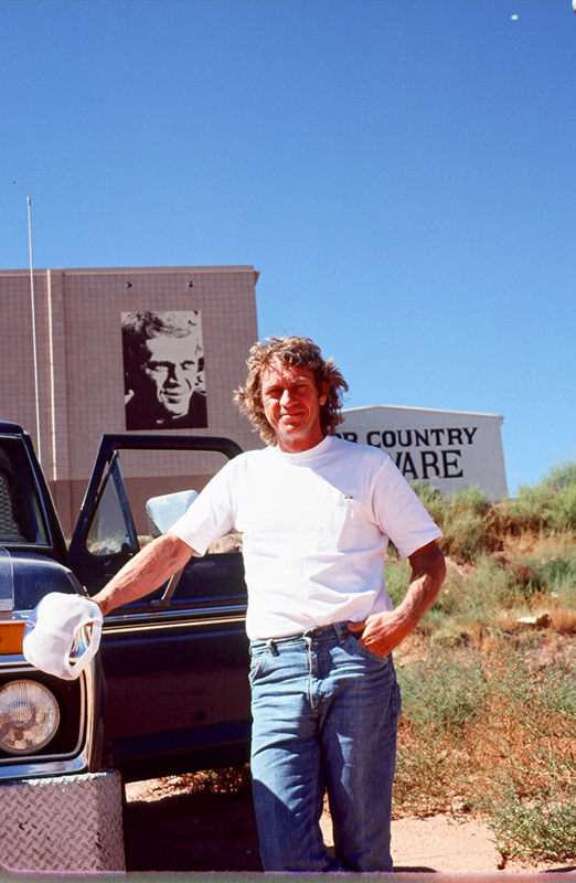 Steve McQueen Movie Double, St. George, UT, 1978