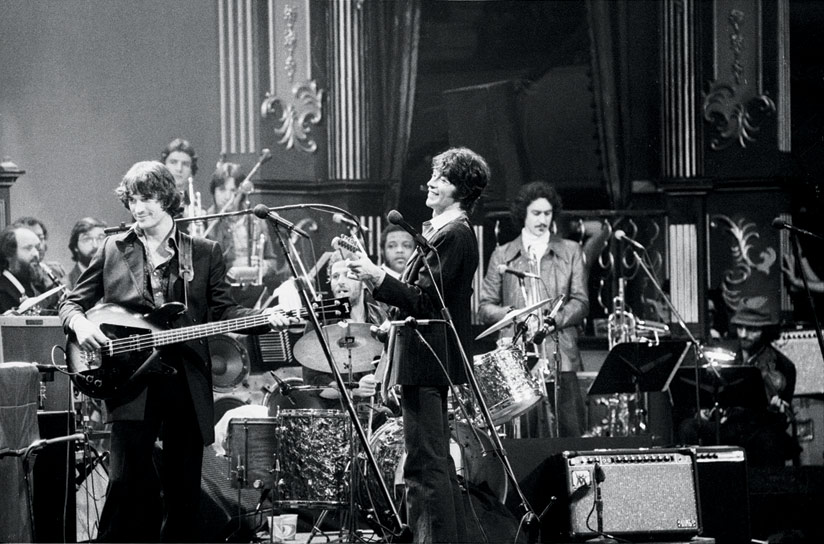 The Band Performing The Last Waltz, San Francisco, CA, 1976