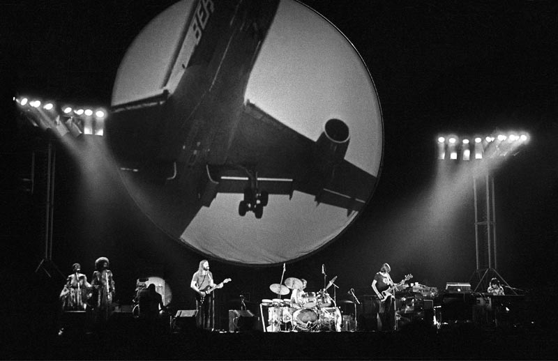 Pink Floyd Onstage (Airplane Graphic), Wembley Arena, North London, 1974