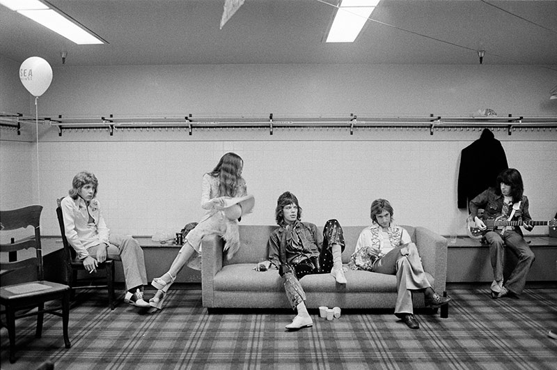 The Rolling Stones, Backstage, 1972