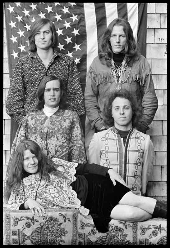 Janis Joplin and Big Brother & The Holding Company, Forest Knolls, CA 1967