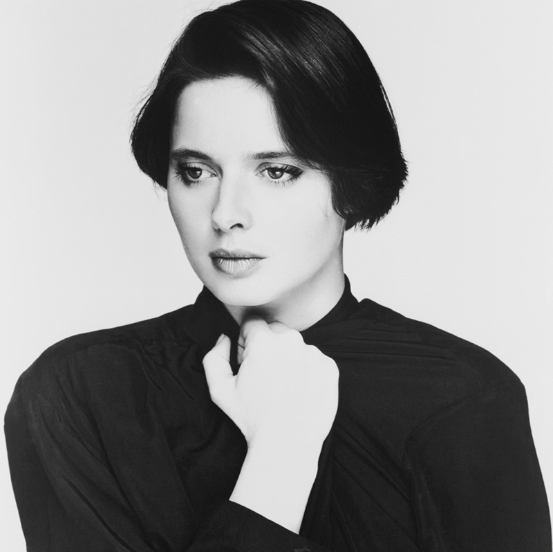 Isabella Rossellini, London (B & W), 1984