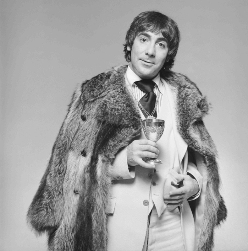 Keith Moon, London, 1975