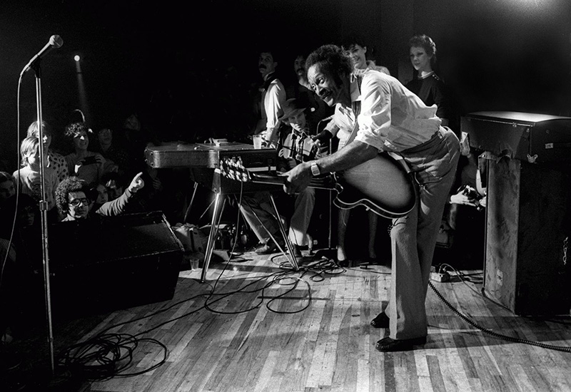 Chuck Berry Onstage, NYC, c. 1975