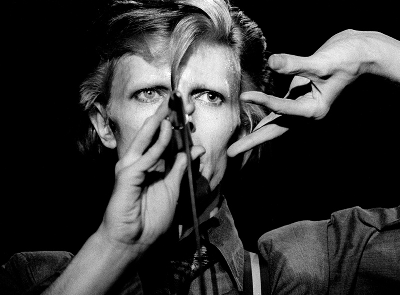 David Bowie Close Up, Boston Music Hall, 1974
