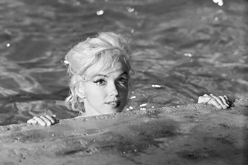 Marilyn Monroe (27), Cherub, on the Set of Something's Got to Give, May, 1962