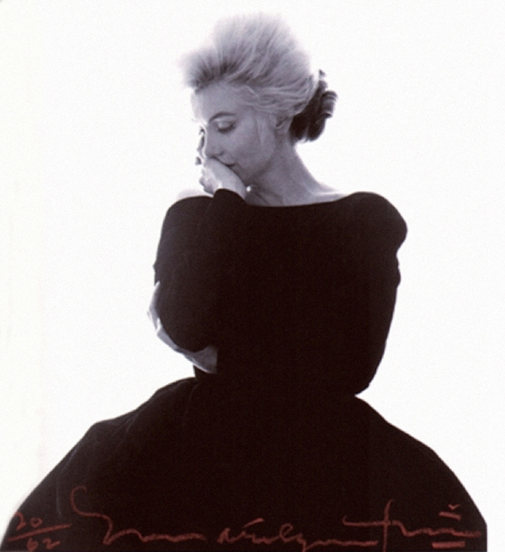 Marilyn Monroe, Vogue Shoot in Black Dress, From The Last Sitting, 1962