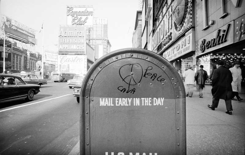 Mail Early In The Day, Times Square, New York, 1962