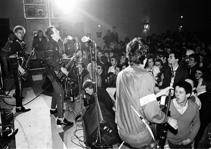 The Clash Performing, Harlesden Coliseum, 1977