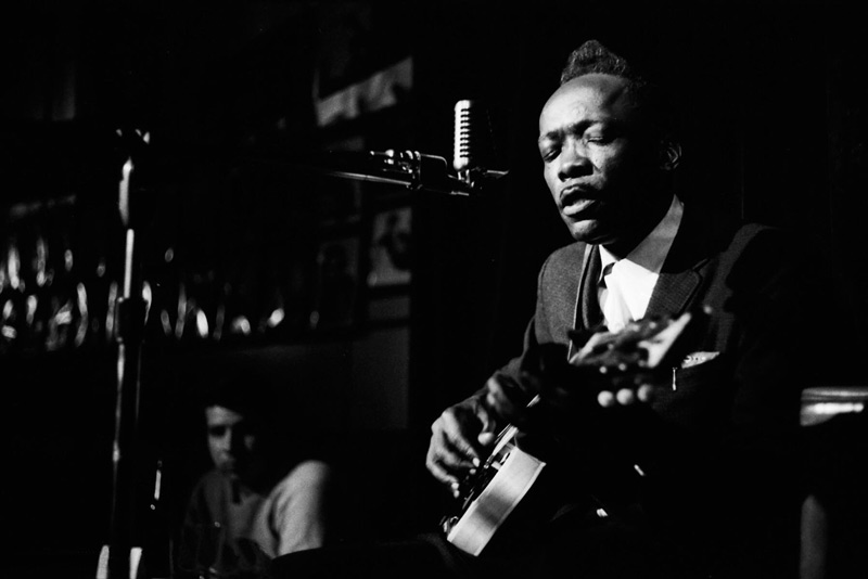 John Lee Hooker Onstage, New York City, 1962