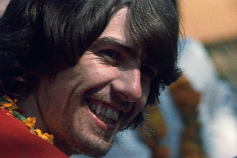 George Harrison, Rishikesh, India, 1968