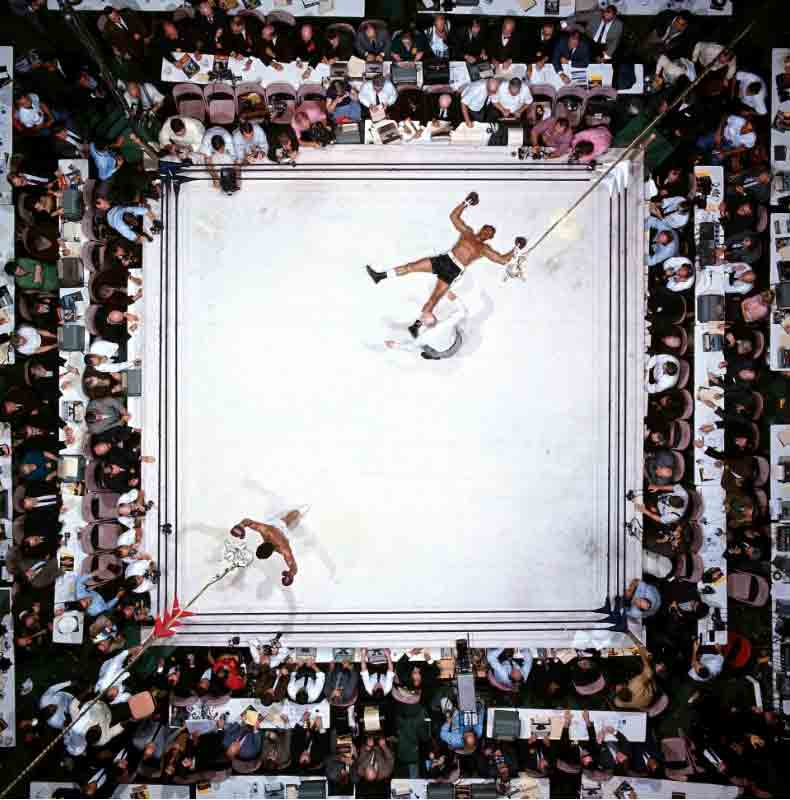 Muhammad Ali Vs Williams - Overhead, Houston TX, 1966