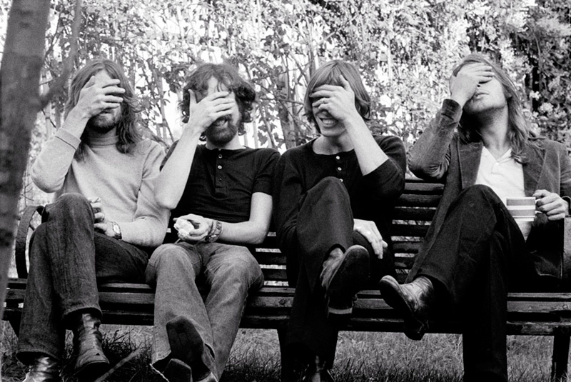 Pink Floyd, Belsize Park (Hands Over Eyes), c.1969