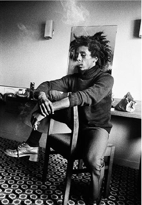 Bob Marley - Waiting in Vain, Backstage in Bournemouth, May, 1974