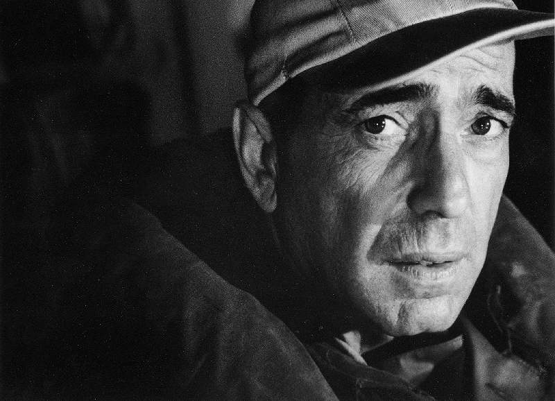Humphrey Bogart Portrait on the Set of The Caine Mutiny, 1954