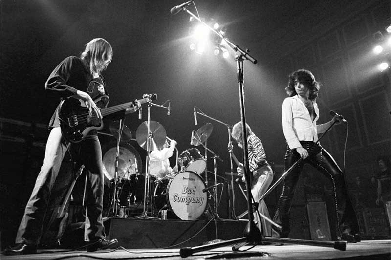 Bad Company Onstage, 1974