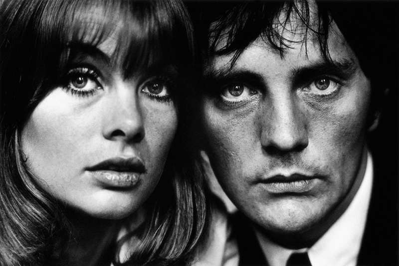 Jean Shrimpton and Terence Stamp, London, 1964