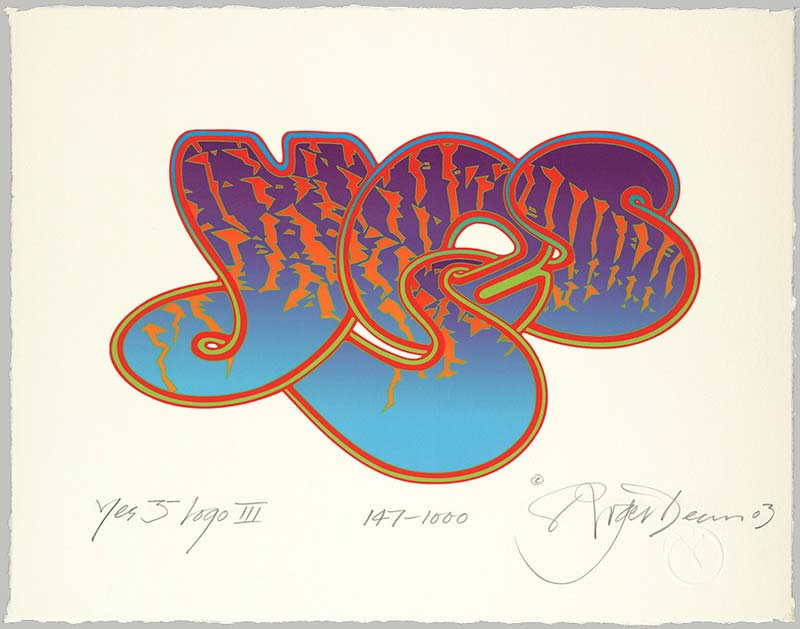 Yes 35th Anniversary Bubble Logo III, 2003