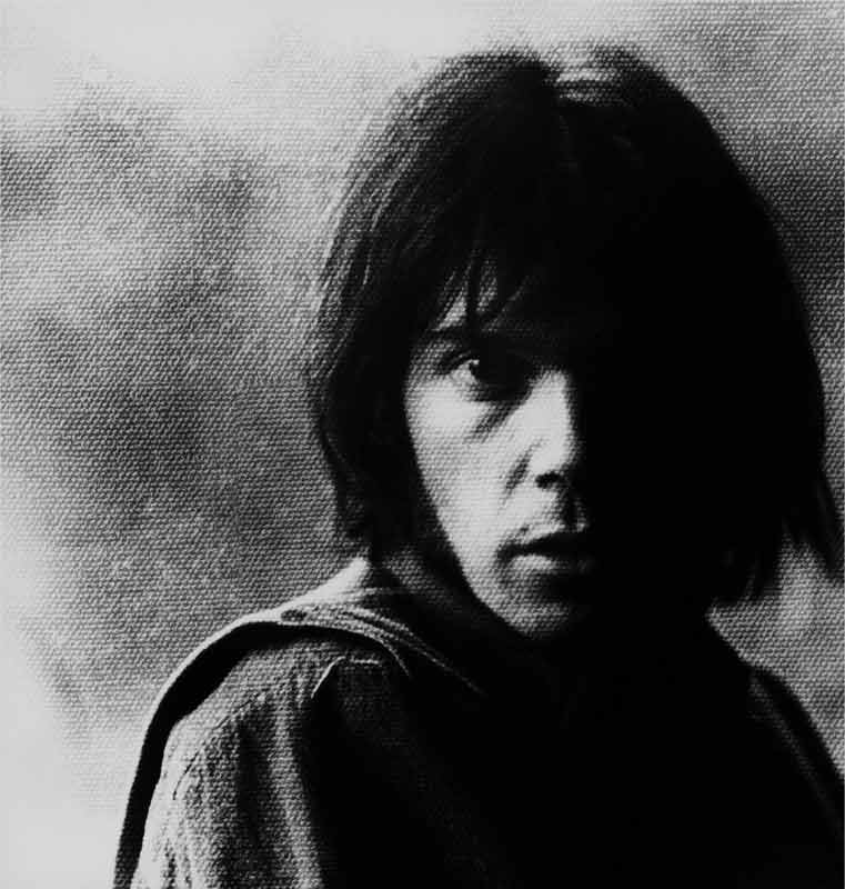 Neil Young, 1969 (Canvas look)