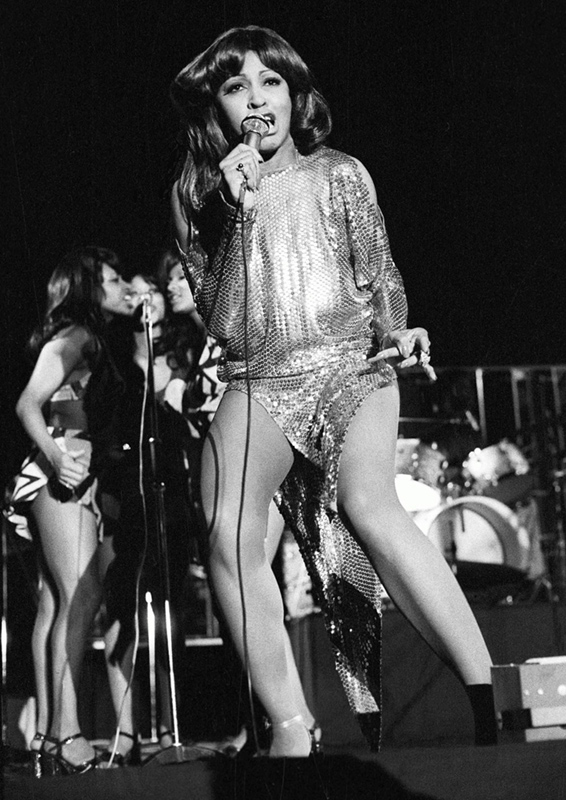 Tina Turner Performing, Rainbow Theatre, London, 1973