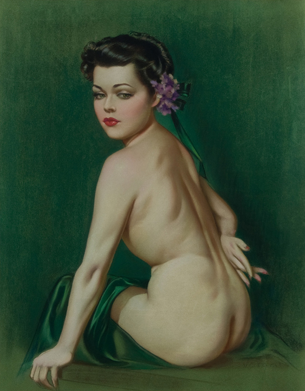 Seated Nude Young Woman - Front View, c. 1930s
