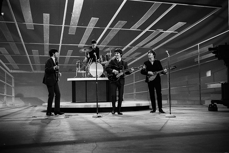 The Beatles Play The Ed Sullivan Show, NYC, 1964
