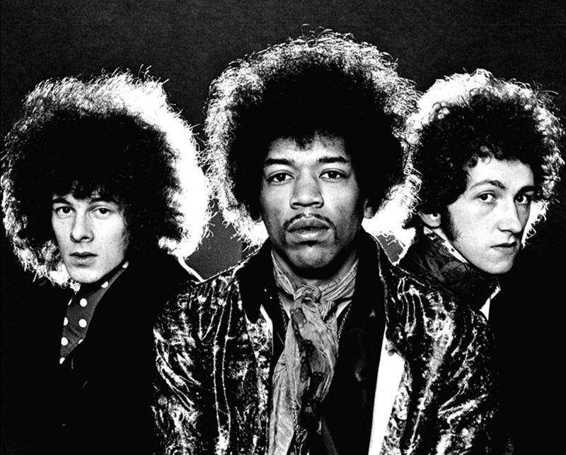 Jimi Hendrix, Are You Experienced Album Back Cover, 1967