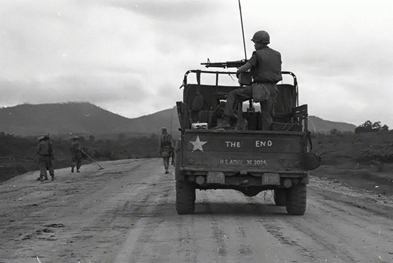 The End Jeep, Vietnam, c. 1968