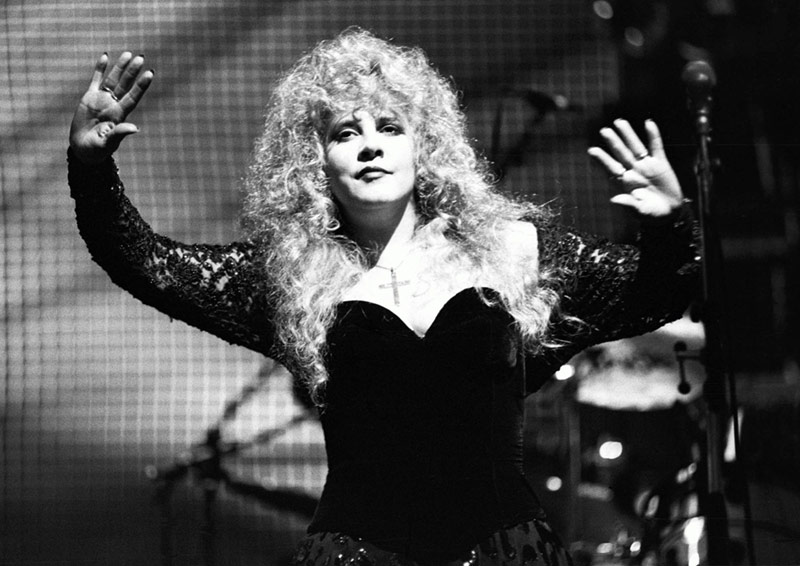 Stevie Nicks Onstage, Wembley Arena, London, 1991
