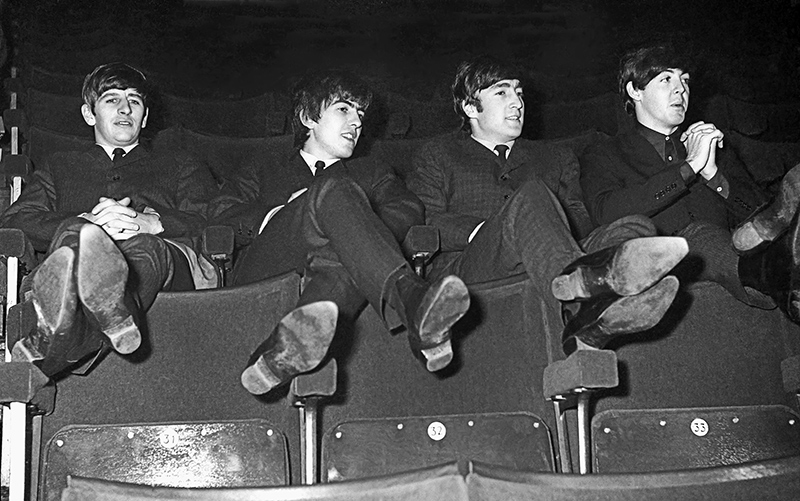 The Beatles, Kicking Back, ABC, Huddersfield, 1963