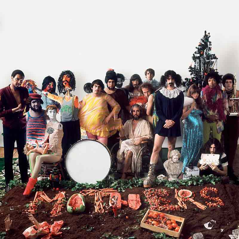 The Mothers of Invention, We're Only In It For The Money Album Inner Sleeve, 1968