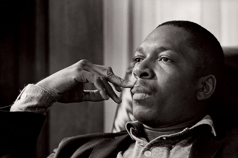 John Coltrane at Ralph Gleason's House, 1960