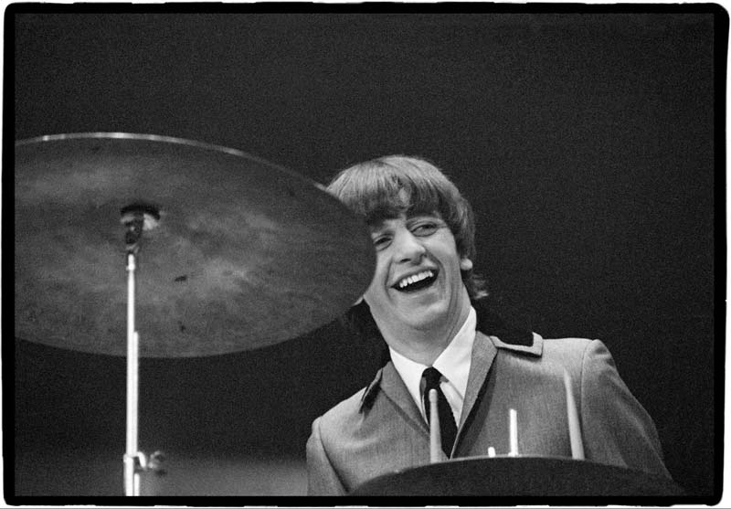 Ringo Starr Performing at the Coliseum, Washington DC, 1964