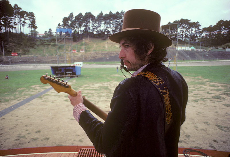 Bob Dylan Soundcheck at Western Springs Auckland, NZ, 1978
