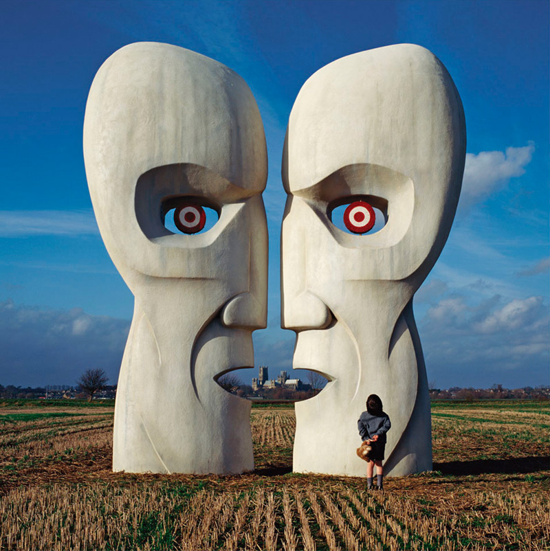 Pink Floyd, The Division Bell - Stone Heads (w/Boy), 1994