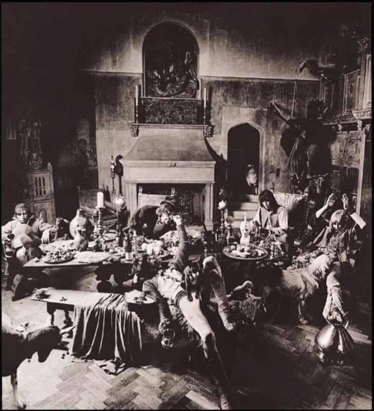 The Rolling Stones - Classic, Beggars Banquet Album Inner Sleeve Outtake, London, 1968