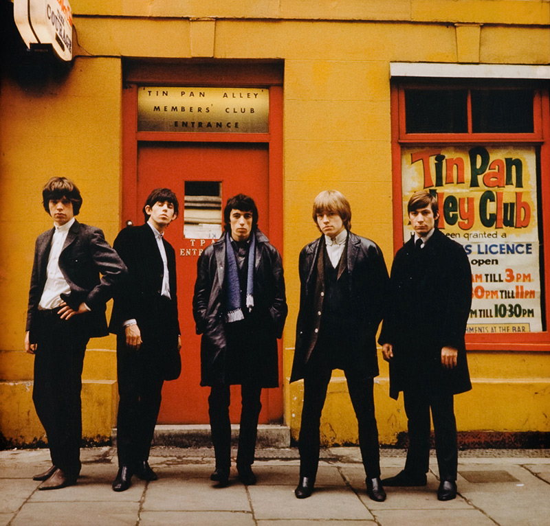 The Rolling Stones, Tin Pan Alley, London, c. 1965