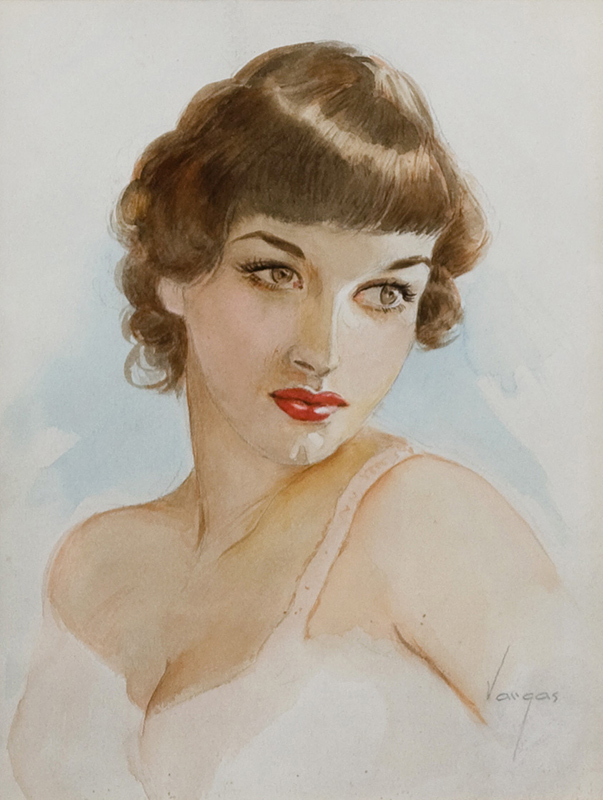Portrait of Debbie, c.1950s