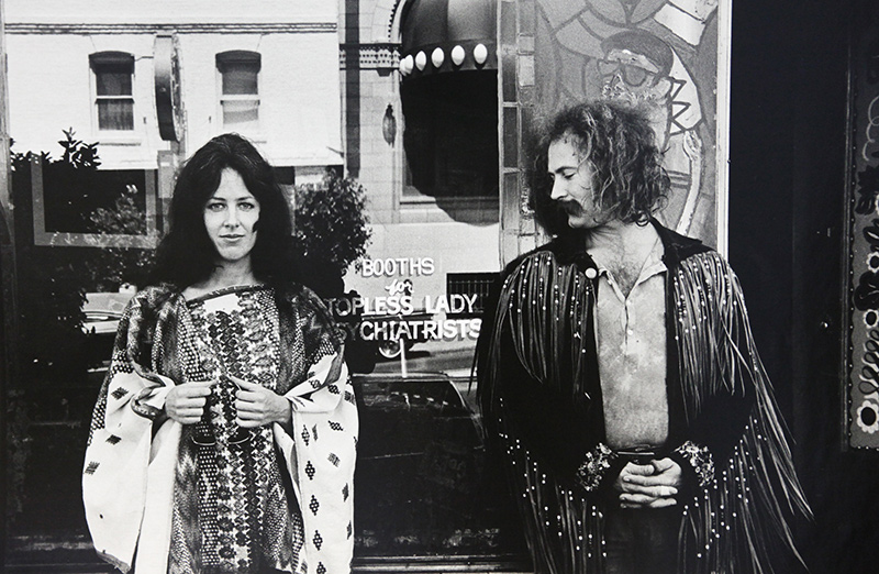 Grace Slick and David Crosby, San Francisco, c. 1971