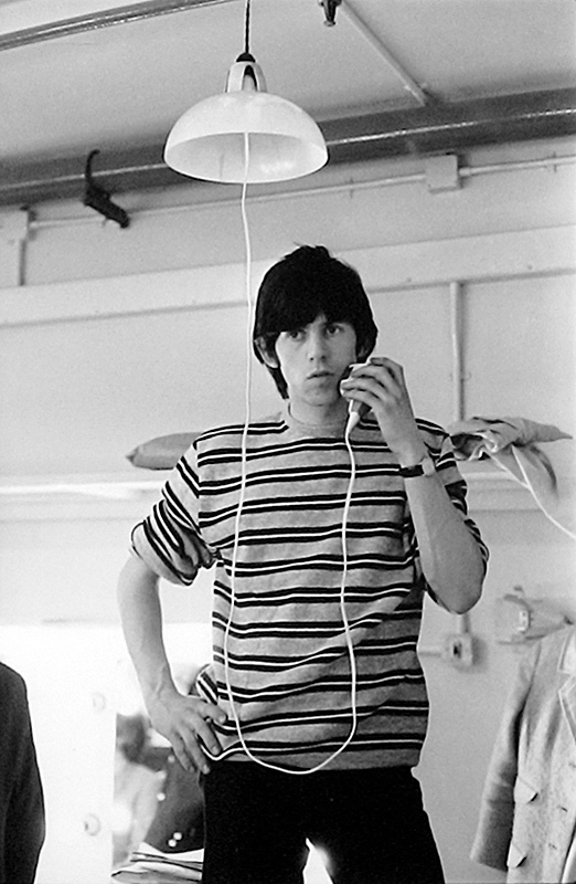 Keith Richards Shaving Backstage, ABC TV Studios, 1964