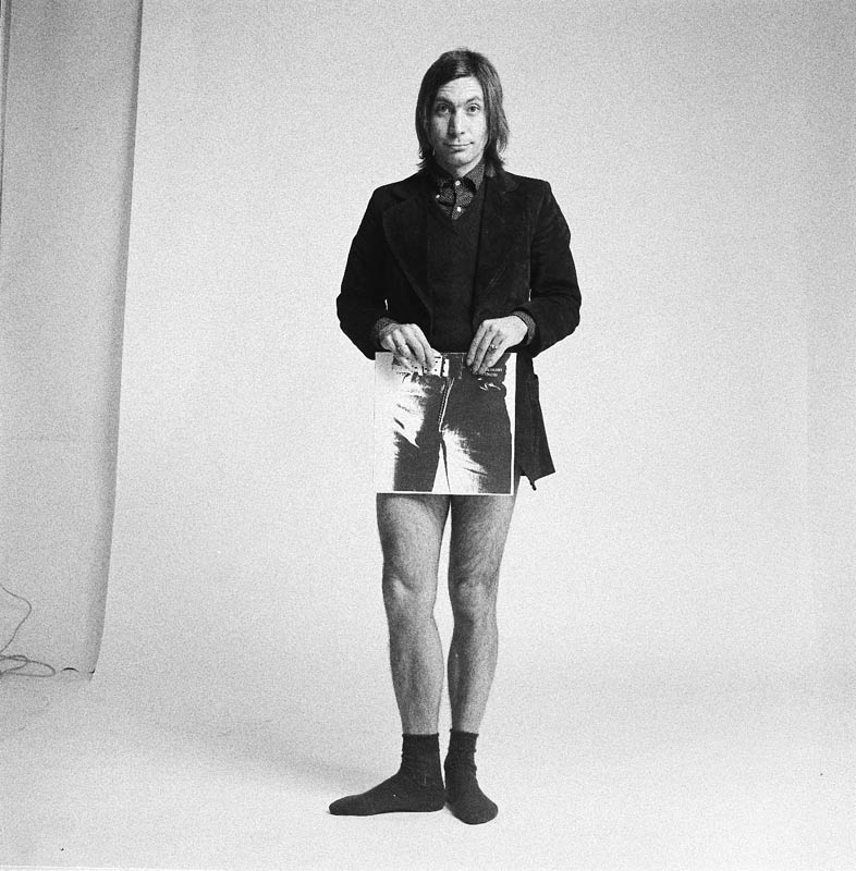 Charlie Watts, Sticky Fingers Promo Shoot, London, 1971