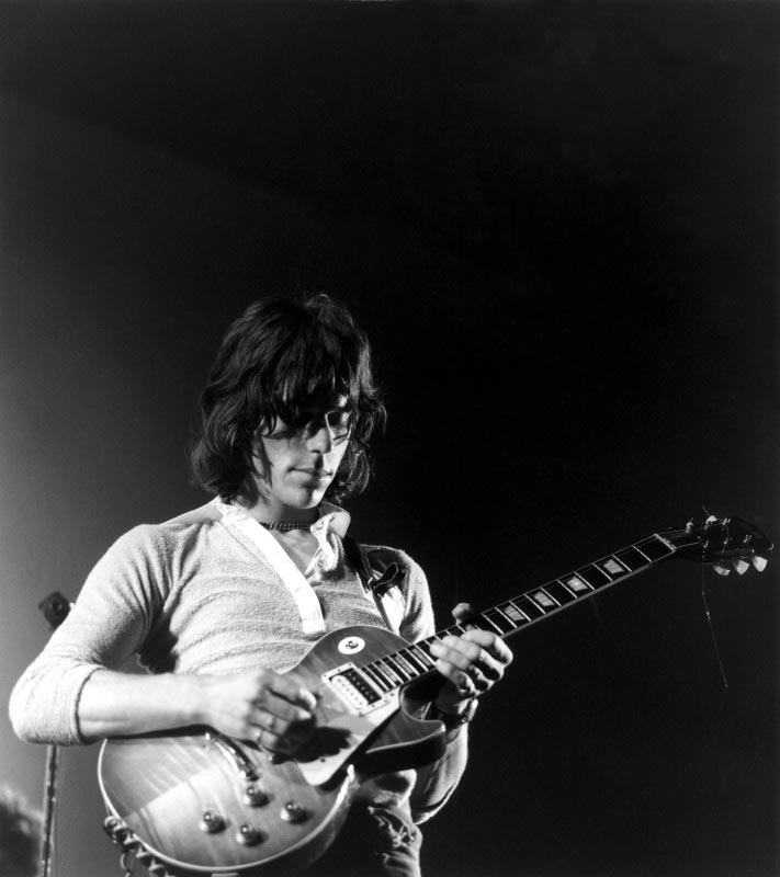 Jeff Beck Performing, Newport Jazz Festival, 1969