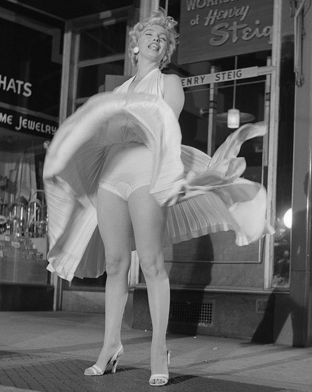Marilyn Monroe In White I, The Seven Year Itch, 1954