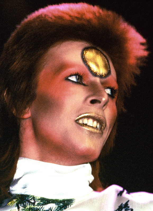David Bowie Portrait as Ziggy Stardust, Earls Court, 1972