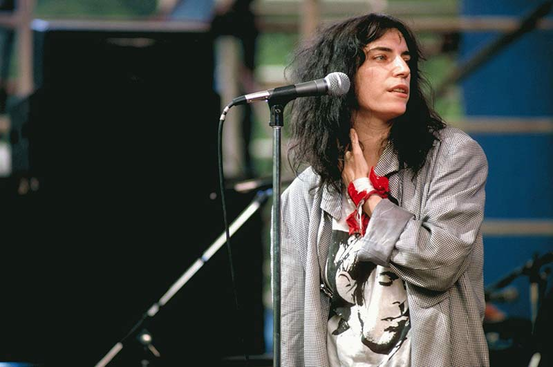 Patti Smith Live in Central Park, NYC, 1978