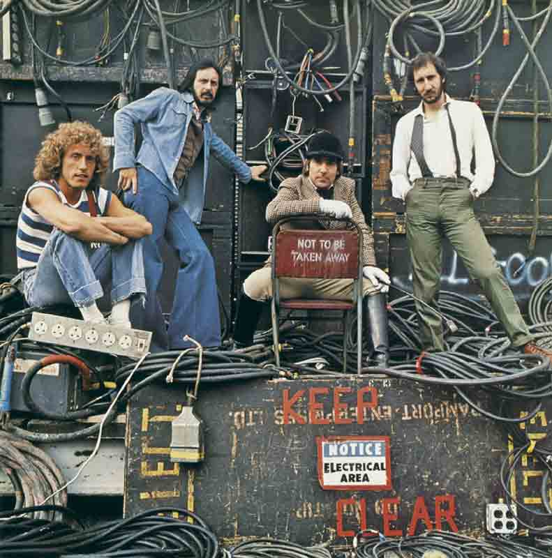 The Who, Who Are You Album Cover, Shepperton Studios, 1978