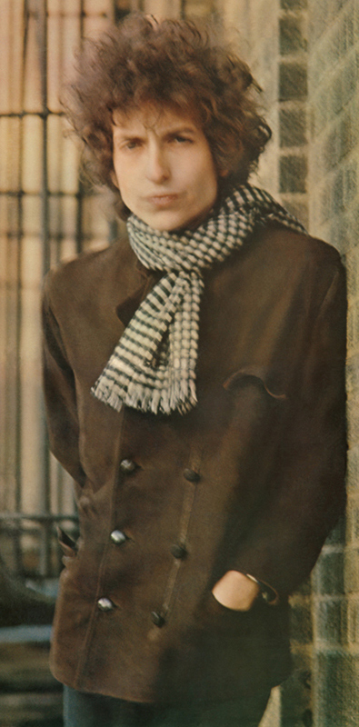 Bob Dylan, Blonde on Blonde Album Cover, NYC, 1966