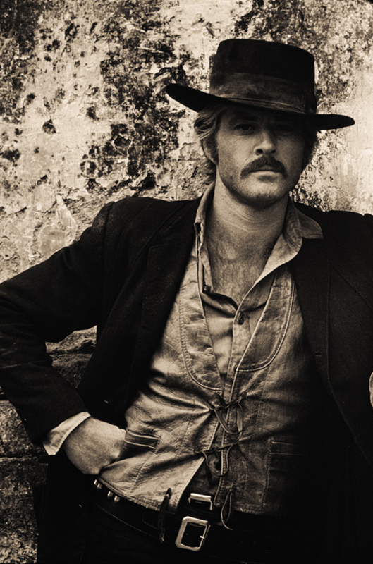 Robert Redford Portrait as The Sundance Kid, Mexico, 1968