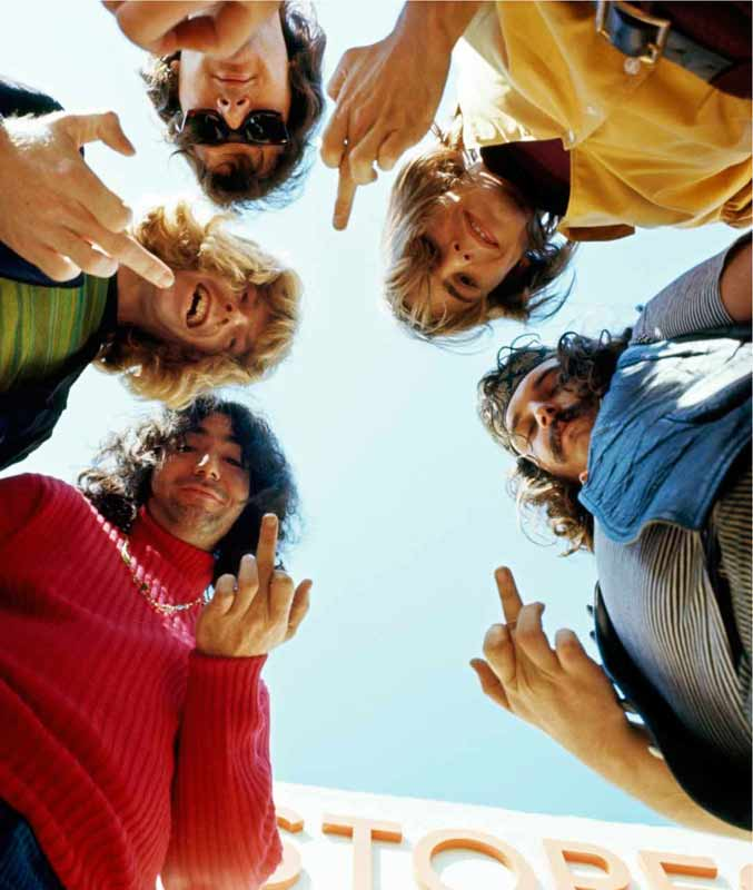The Grateful Dead Flipping the Bird, Fillmore St, SF 1967